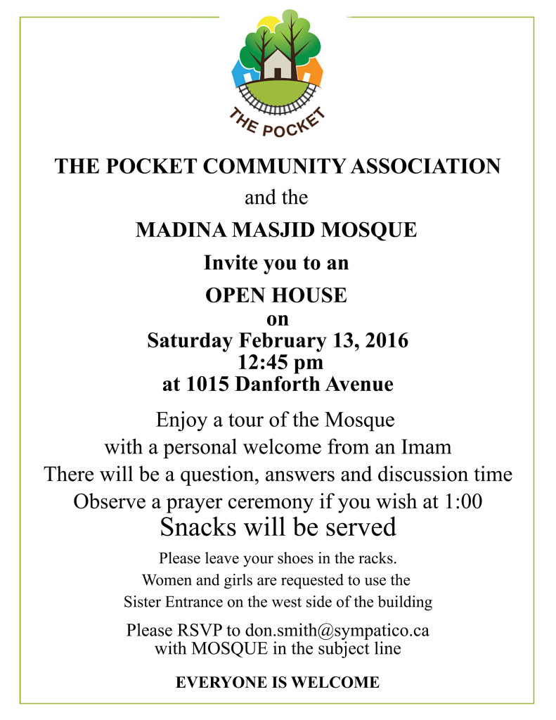 Flyer for Mosque for PCA Jan2016
