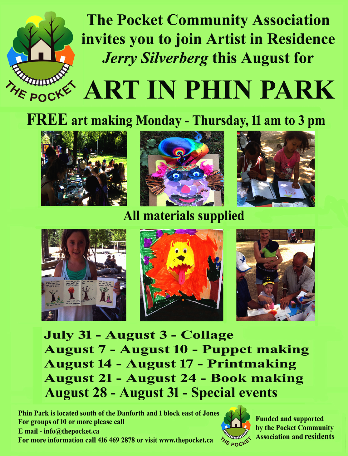 Art in Phin Park - 2017 small send