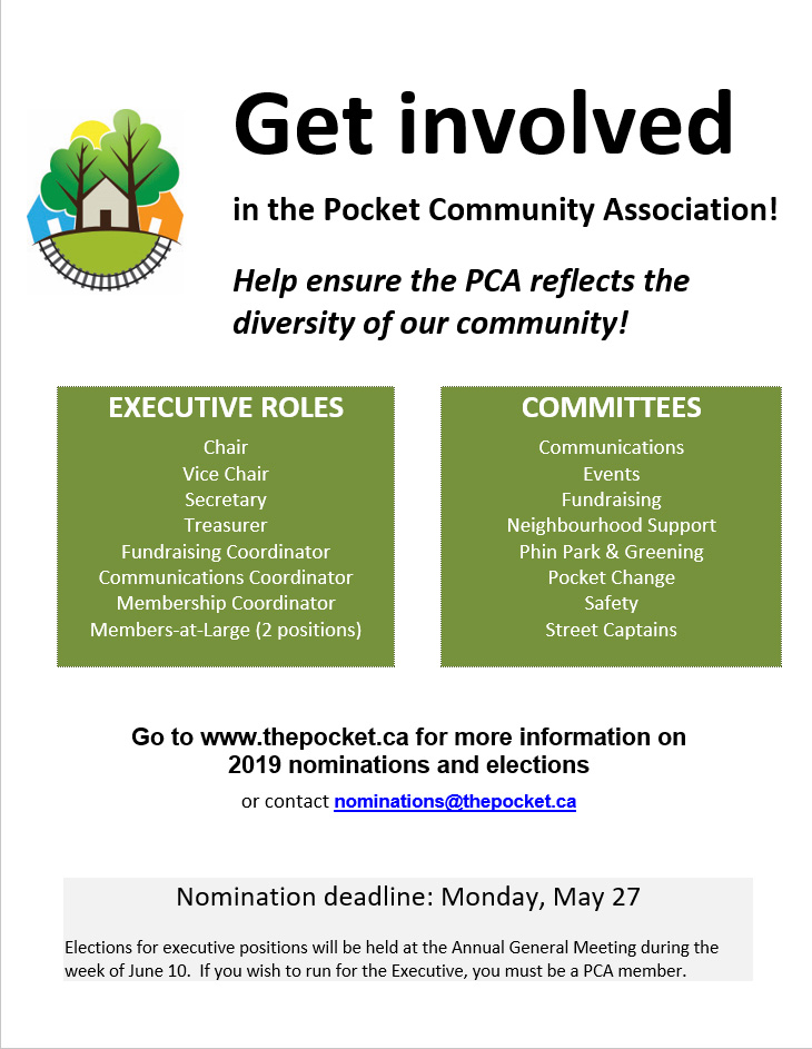Call for Executive Members and Volunteers Poster 2019