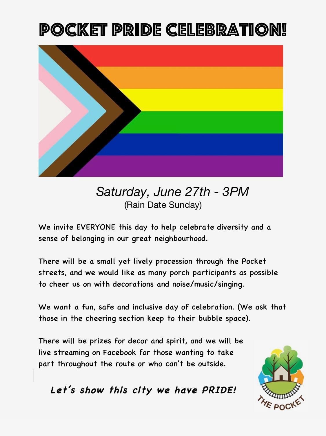pocket pride celebration 2020